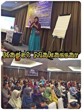 dr Diah Syarifah saat tampil sebagai pembicara dalam Kangen Gathering yang diselenggarakan KAT Makassar, Sabtu (30/4/2016) di hotel Ramedo, Makassar, Sulawesi Selatan