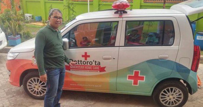 Walikota Makassar, Moh. Ramdhan Pomanto dan mobil operasional Home Care