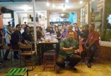 Silaturrahim Mahasiswa Angkatan 92, Teknik elektro Universitas Muslim Indonesia (UMI) Makassar, Selasa (28/6/2016) di D' President Cafe, Pasar Segar Makassar.