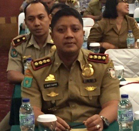 Kepala Dinas Tenaga Kerja Kota Makassar, Andi Bukti A Djufri