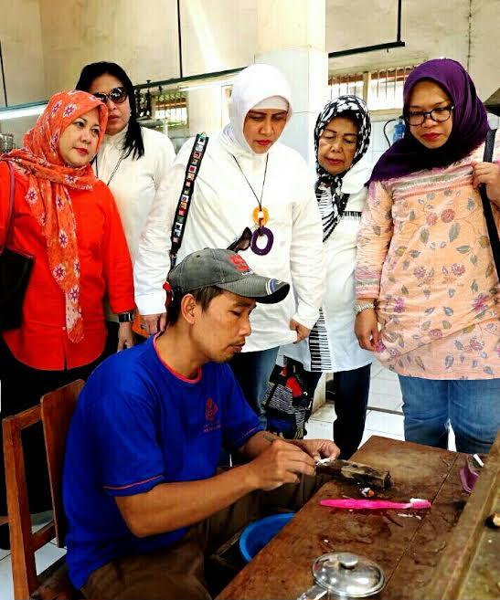 Ketua Dekranasda Makassar Kunjungi Sentra Kerajinan di Yokyakarta