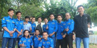 Pengurus BEM FT UPRI Makassar Bersama Dengan Wakil Dekan I FT UPRI Makassar